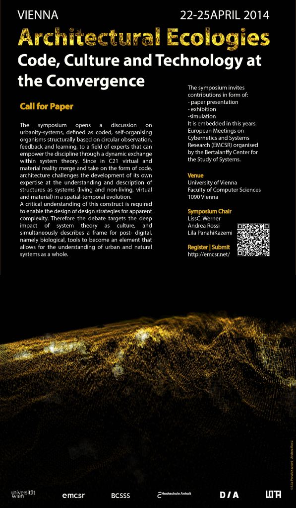 EMCSR_Architectural_Ecologies_2014_Poster